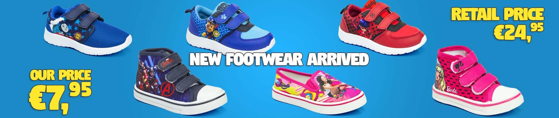 Footwear for children wholesale Disney licenses.